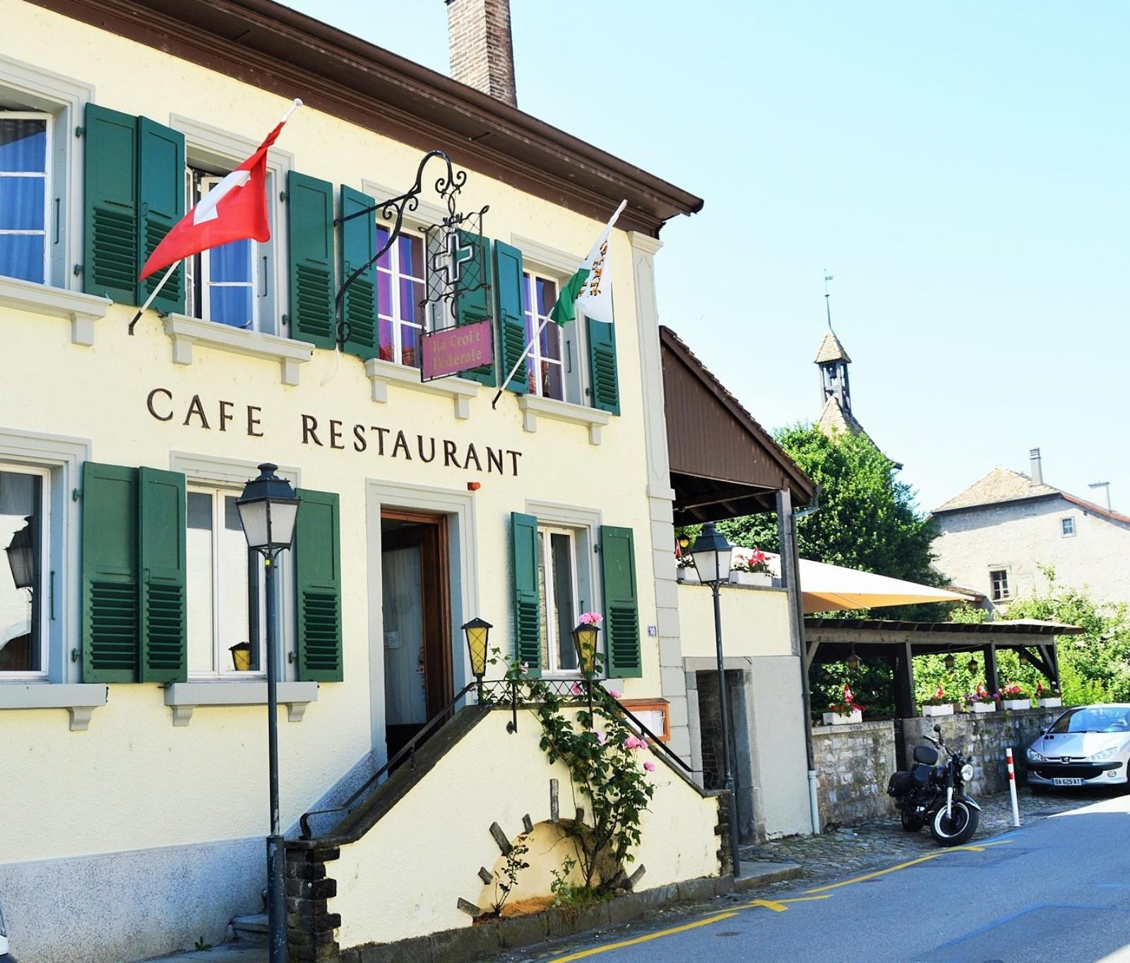 Restaurant auberge saint prex