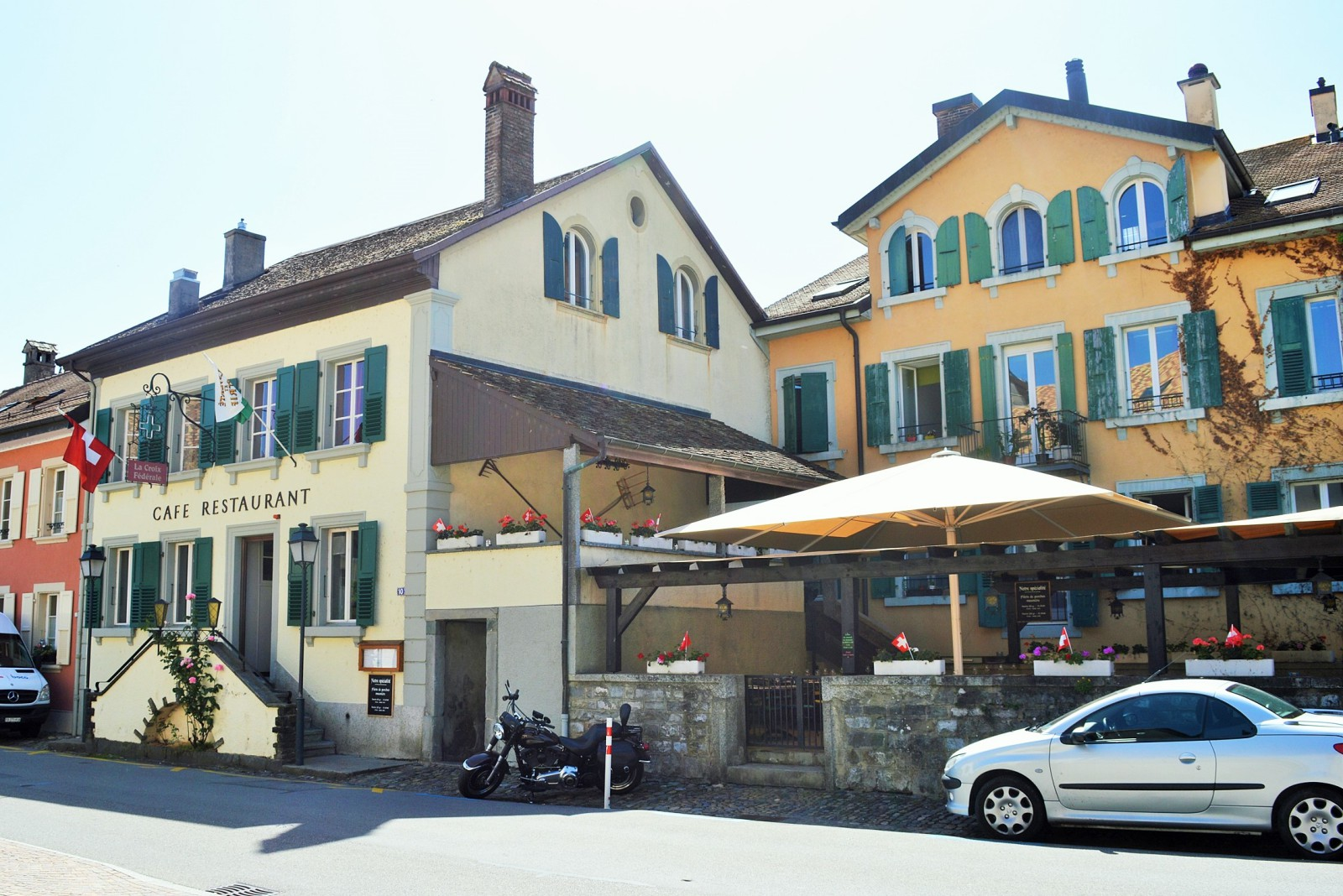 Restaurant taverne morges